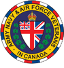 Member of the Army Navy and Air Force Veterans in Canada Rockwood 303