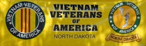 North Dakota Vietnam Veterans of America Banner (Photo courtesy of Jim Misialek)