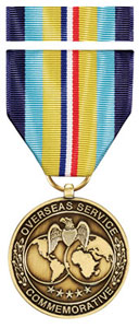 Overseas Service Commemorative Medal