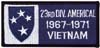 Americal 23rd Infantry Vietnam Patch - 1967-1971