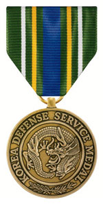 US Korea Defense Medal